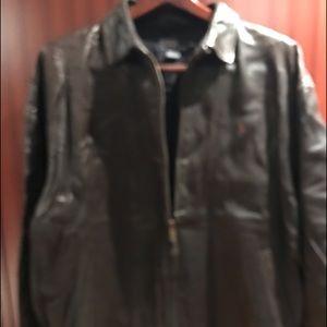 POLO by Ralph Lauren Men's leatherJacket s XL